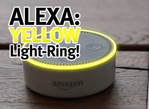 Alexa yellow ring