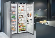 Side-by-side Fridges